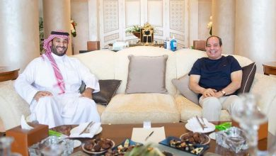 Photo of الرئيس السيسي في لقاء مع ولي العهد السعودي بشرم الشيخ