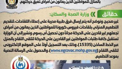 Photo of حقيقة تحصيل رسوم مقابل تقديم خدمات تلقي لقاح فيروس كورونا