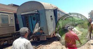 ارتفاع عدد مصابي قطار الأسكندرية