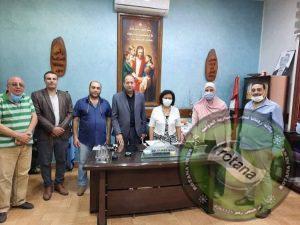 النيل للإعلام بطنطا بعقد لقاء توعوى عن أهمية تطعيمات فيروس كورونا