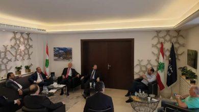 Photo of حزب الإتحاد اللبناني يستعرض الأوضاع الحالية أثناء اجتماعه الدوري