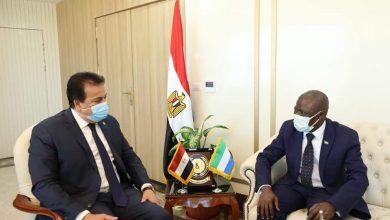 Photo of عبدالغفار: يستقبل سفير دولة سيراليون بالقاهرة لبحث سبل التعاون بين البلدين