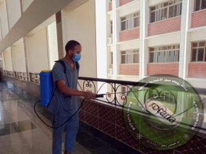 جامعة المنيا تكثف استعداداتها لبدء إمتحانات الترم الثانى المقرر بدايتها أول الاسبوع المقبل