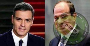 تلقى السيد الرئيس عبد الفتاح السيسي اليوم اتصالاً هاتفياً من رئيس وزراء إسبانيا.
