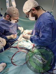 جراحة قلب مفتوح لطفلة بعمر 6سنوات  بمستشفى المنصورة الدولي