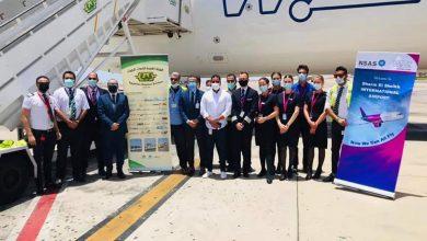 "Photo of إستقبال رسمى لأولى رحلات ""ويز إير Wizz Air"" من مطار مالبنسا لشرم الشيخ"