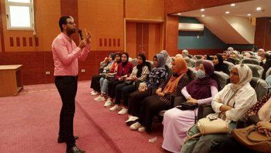 Photo of إعلام السويس يناقش فن التعامل مع الناس والتأثير فيهم لمكلفات الخدمة العامة