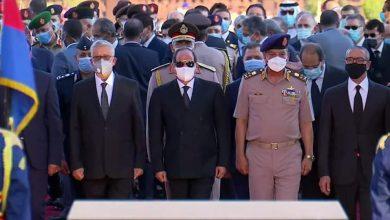Photo of الرئيس السيسي يتقدم جنازة السيدة چيهان السادات قرينة الرئيس الراحل انور السادات