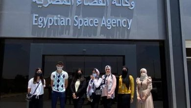 Photo of وفد طلاب كلية الإعلام جامعة MSA يجري زيارة ميدانية قي وكالة الفضاء المصرية EGSA