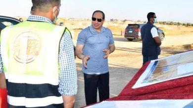 "Photo of الرئيس السيسى يتفقد مشروعات تطوير شبكة محاور وطرق الساحل الشمالى ""صور """
