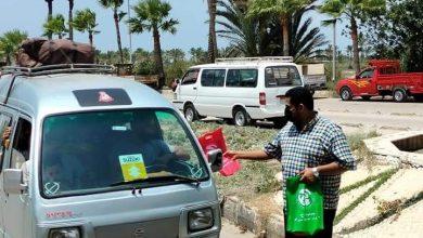 Photo of رأس البر تستقبل زوارها على بوابتي المدينة