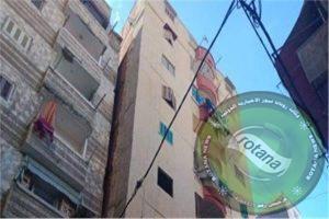 الأسكندرية: ميل عقار  مكون من 17 طابق