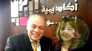 المنتجين العرب تهنئ الدكتورة غاده جباره بمناسبه توليها رئاسه اكاديميه الفنون.
