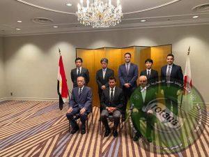 فاعليات لقاء وزير الرياضة مع رئيس مركز اليابان ومحافظة طوكيو