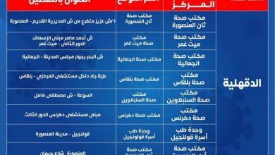 Photo of بدأ العمل بمراكز تطعيم المسافرين من الغد من خلال 8 مكاتب على مستوى محافظة الدقهلية