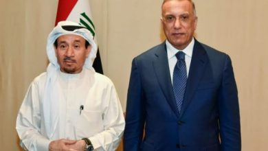 Photo of رئيس نقابة الصحفيين الكويتيين يلتقي مع رئيس الوزراء العراقي