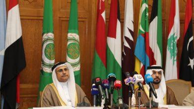 Photo of رئيس البرلمان العربي يشهد مؤتمر صحفي عقد بمقر الجامعة العربية