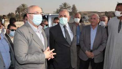 Photo of وزير الري ومحافظ بني سويف يتفقدان إعادة تأهيل مخر سيل سنور