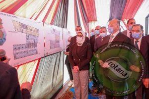 وزيرة الصحة ومحافظ القاهرة يتفقدان أعمال إنشاء مستشفى بولاق أبو العلا العام الجديد