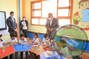 محافظ كفر الشيخ يتفقد  الدراسة في الأسبوع الأول بالمدرسة الدولية الحكومية للغات