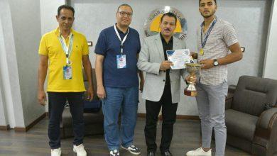 "Photo of "" جامعة الوادى الجديد "" تقرر تكريم الفائزين ببطولة ملتقى الجامعات الحدودية"
