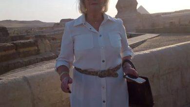 Photo of منطقة الأهرامات تستقبل وزيرة الهجرة الهولندية أثناء زيارتها لمصر