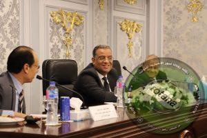 لجنة ثقافة مجلس الشيوخ تعقد جلسة مباحثات مع وفد البرلمان الأردني