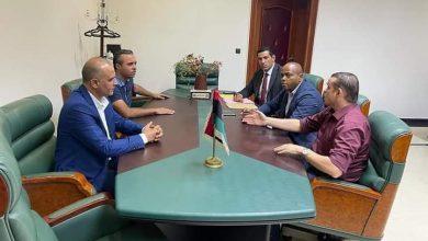 Photo of وكيل وزارة خارجية ليبيا يزور سفارة بلاده فى بنين