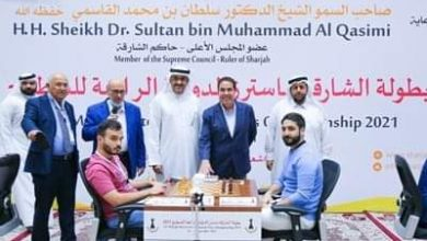 "Photo of "" سالم عبد الرحمن "" يتلقى اول خسارة فى (ماسترز الشطرنج)"