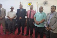 """Photo of """" جامعة الوادى الجديد """" تستضيف مستشار وزير الزراعة للتحسين الوراثي"""